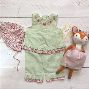 NEW Vintage Little Bitty Strawberry Outfit
